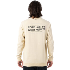 Rip Curl Garage Crew Sweater Men, bone